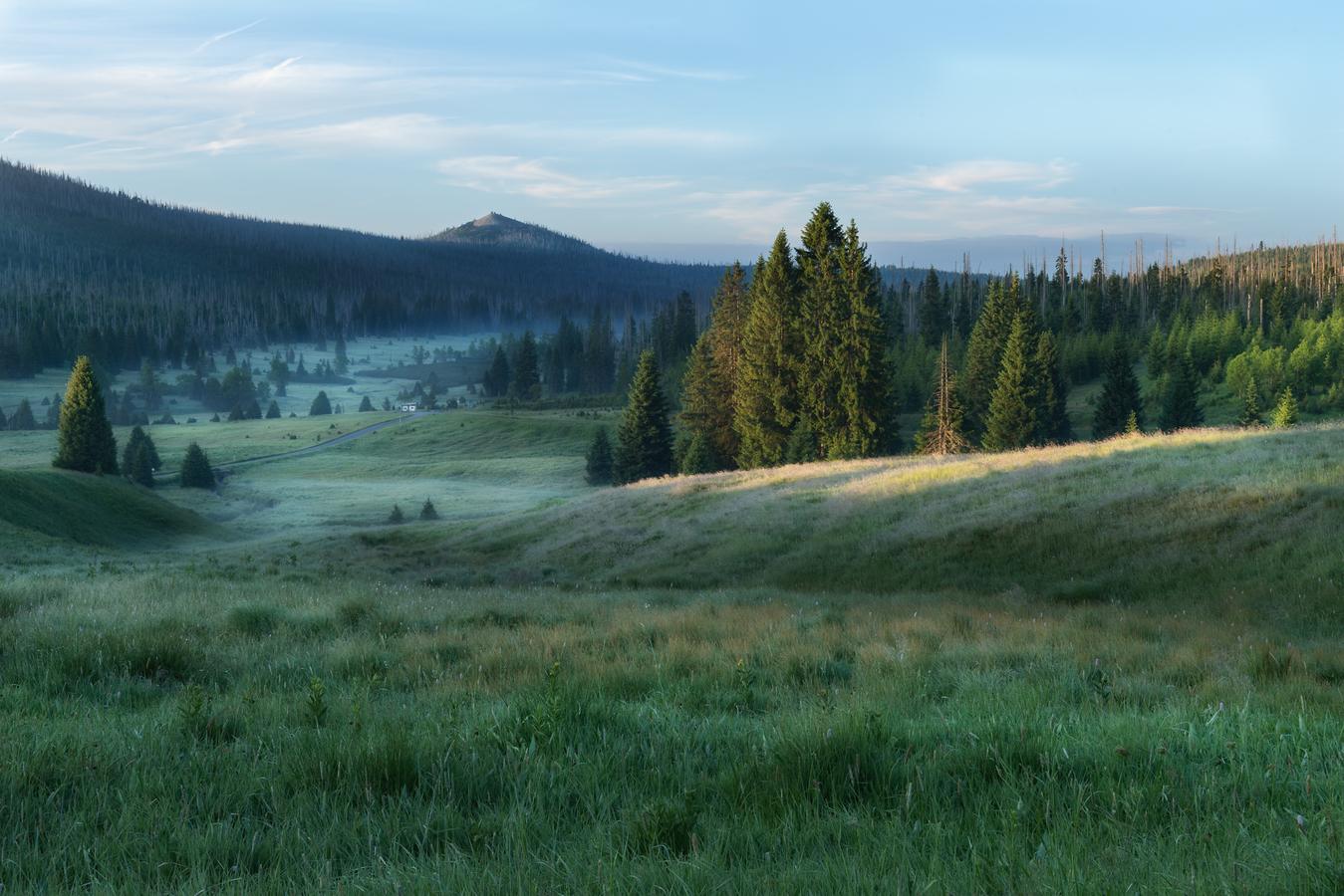Nejkrásnější údolí na Šumavě.