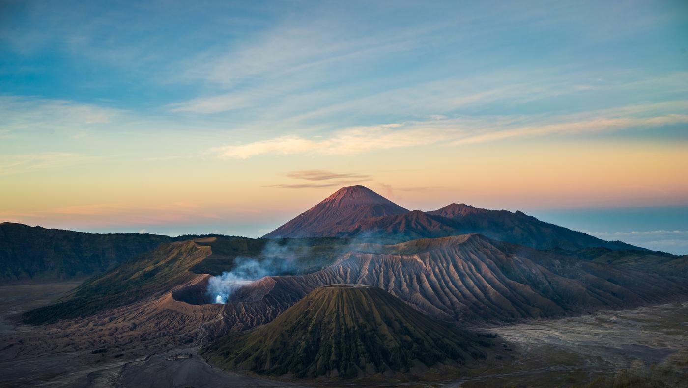 Vulkán Bromo II