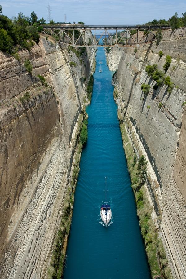 Průplav Korintos