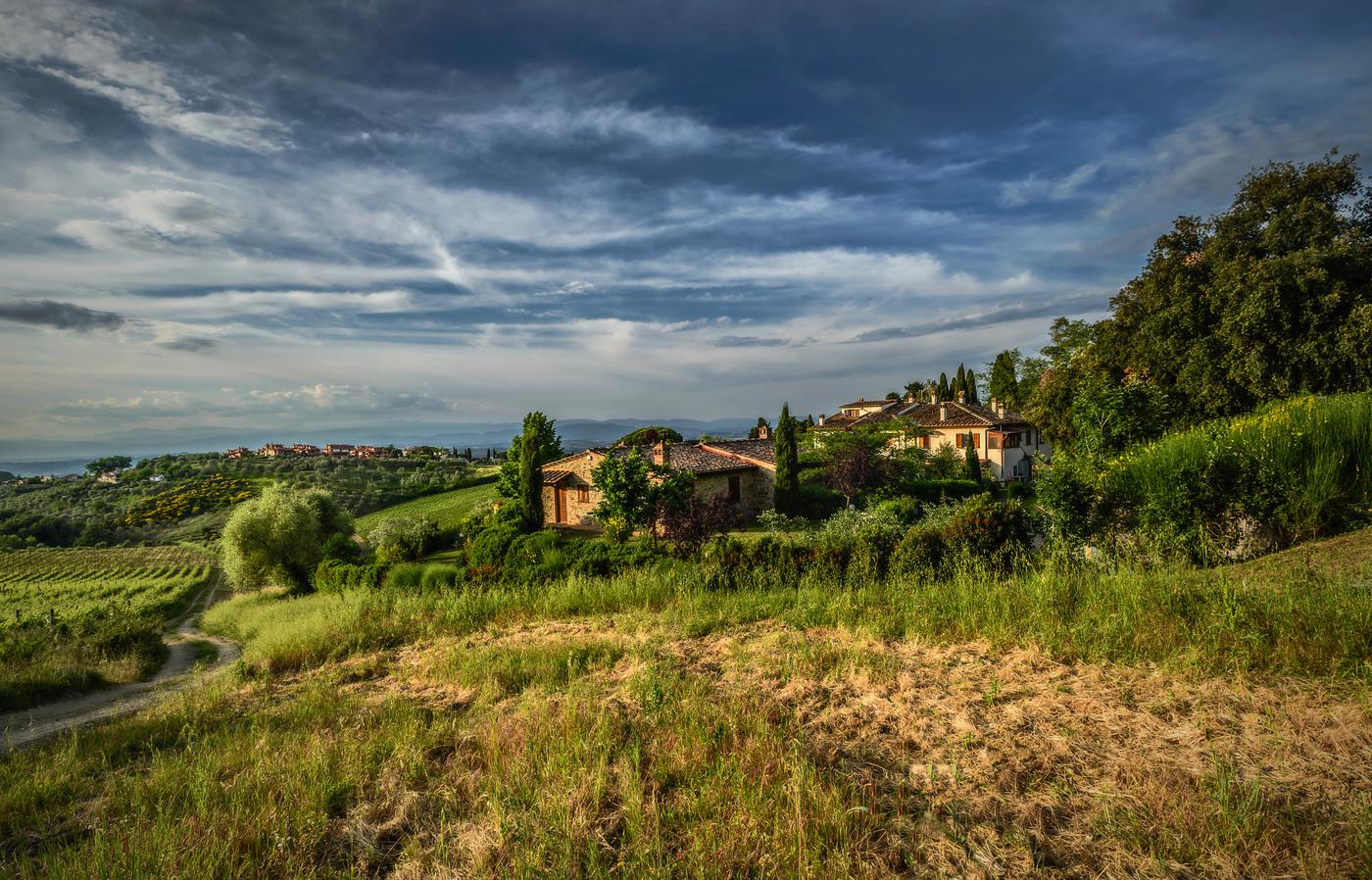 Navečer krajem Chianti