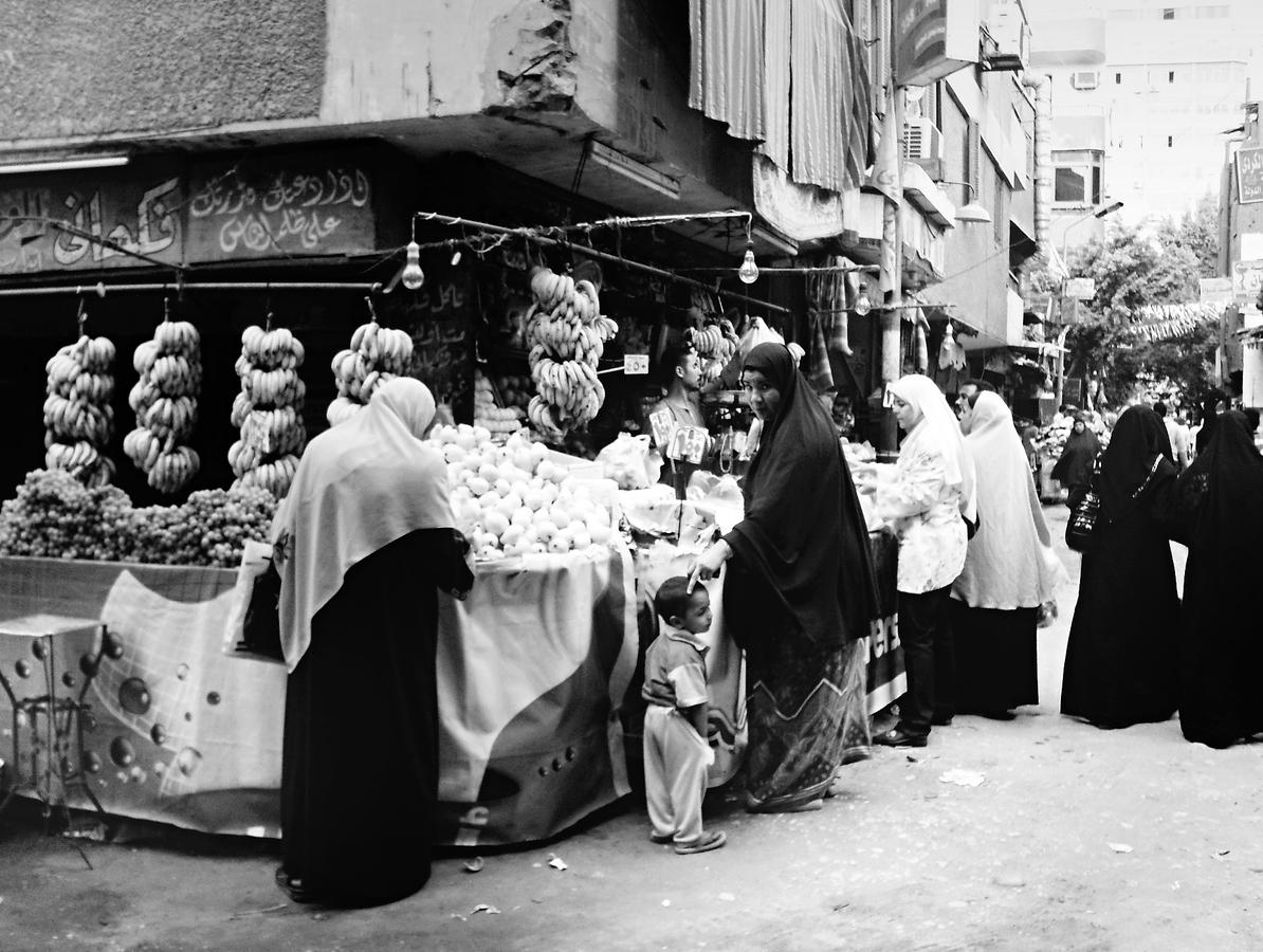 V ulicích Káhiry