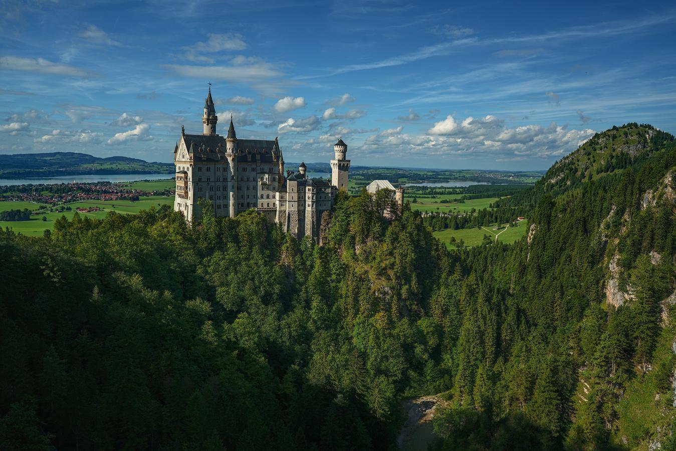 Pohádkový zámek Neuschwanstein