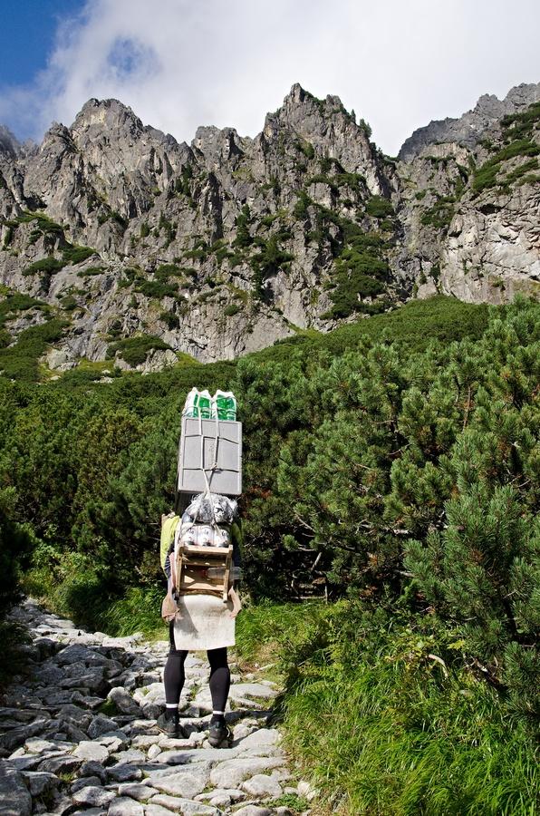 Cestou na Téryho chatu Tatry.