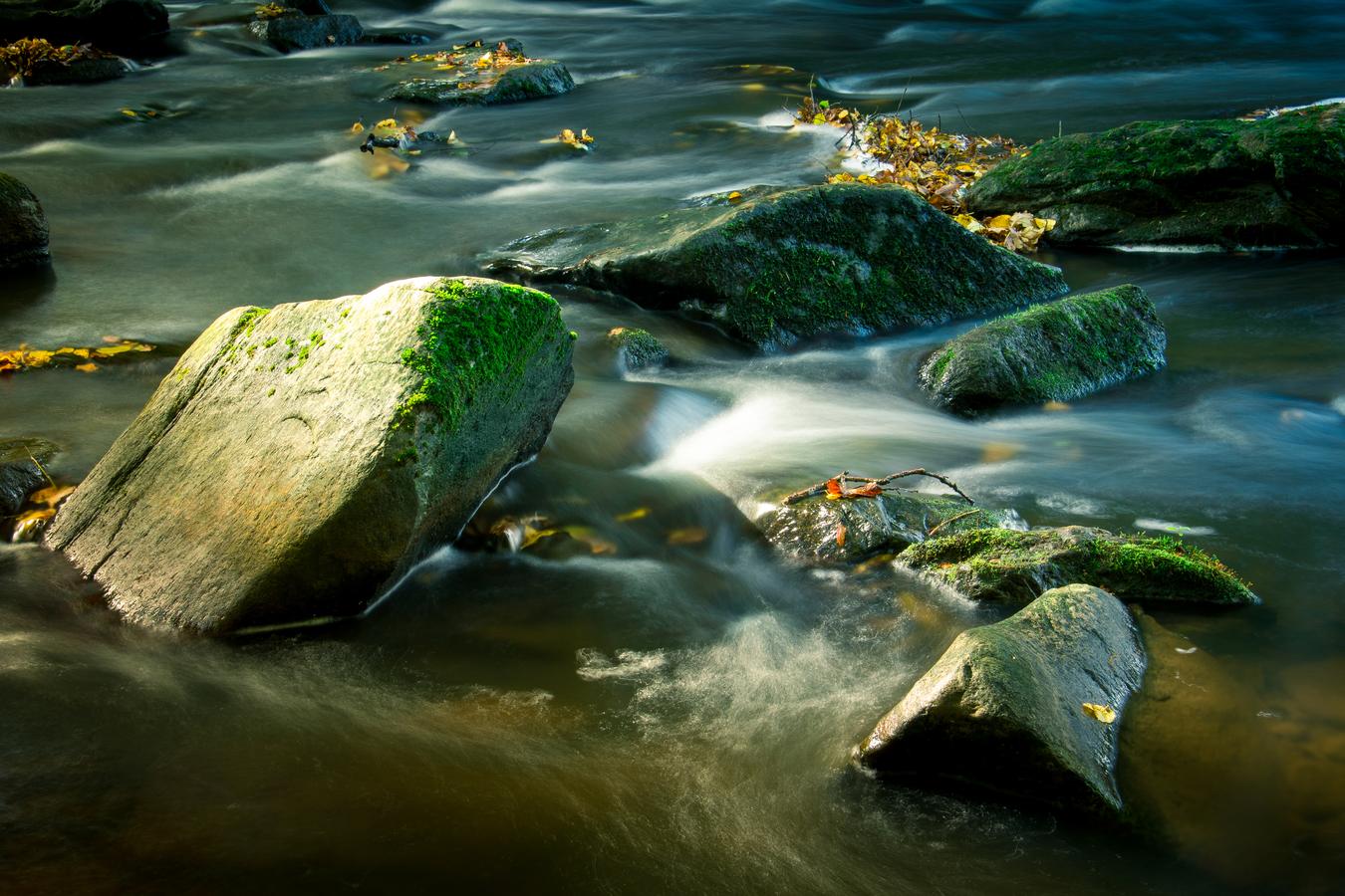 Podzimní řeka Doubrava
