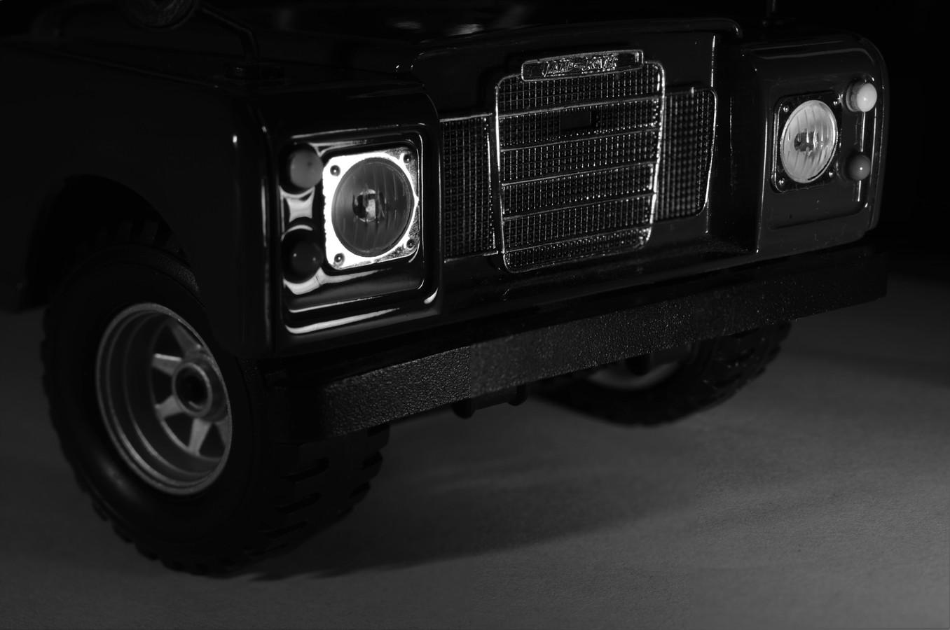 Můj domácí Land Rover