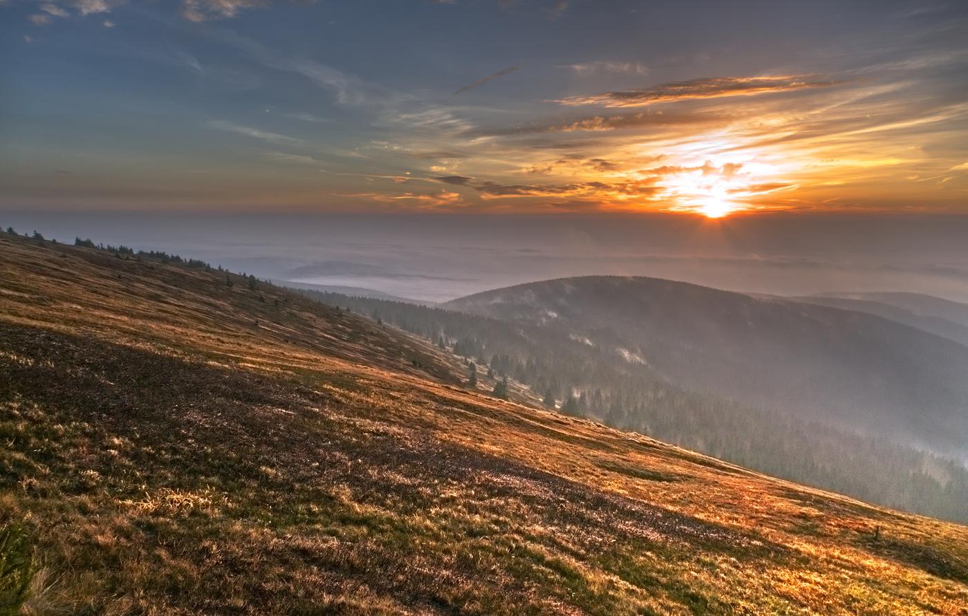 Ráno na Vysoké Holi