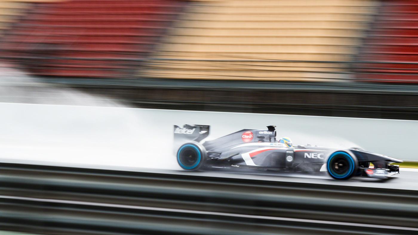 F1 Winter Testing 2013 - E. Gutierrez