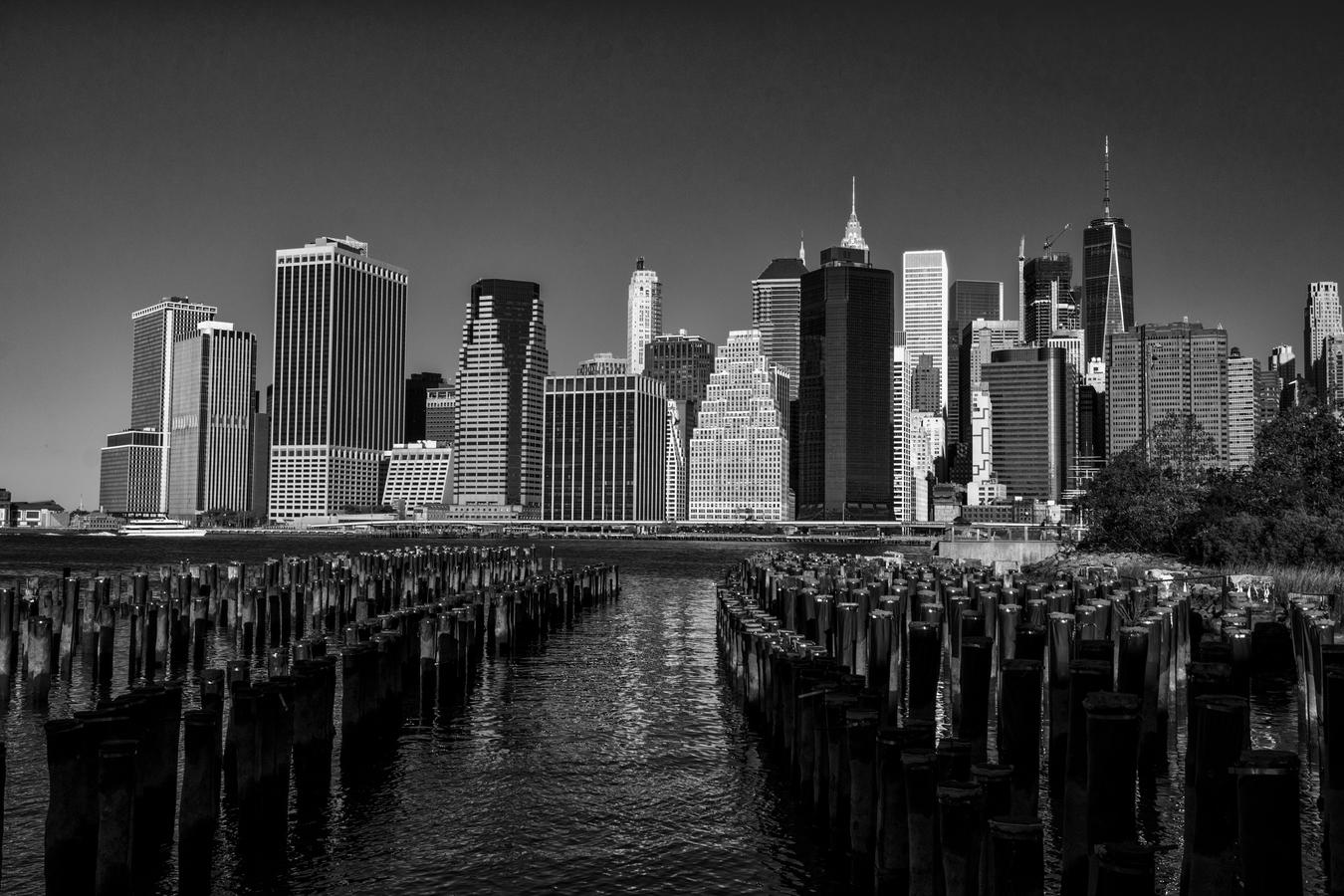 Dolní Manhattan po rozbřesku