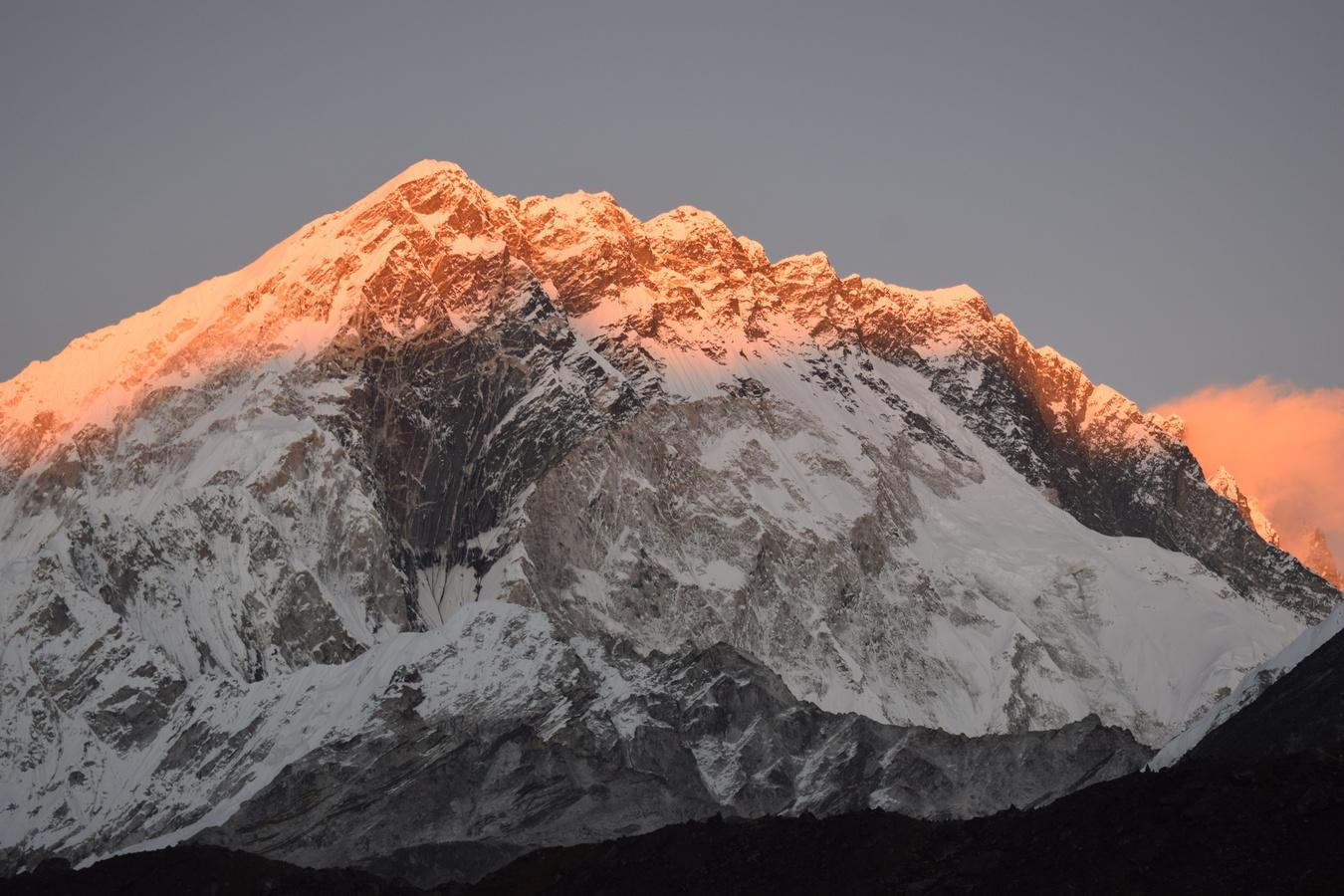 Západ slunce na Mehra Peak.