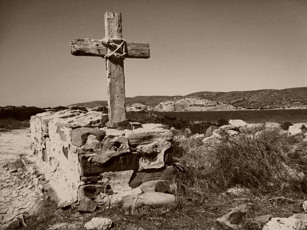 Kříž u moře