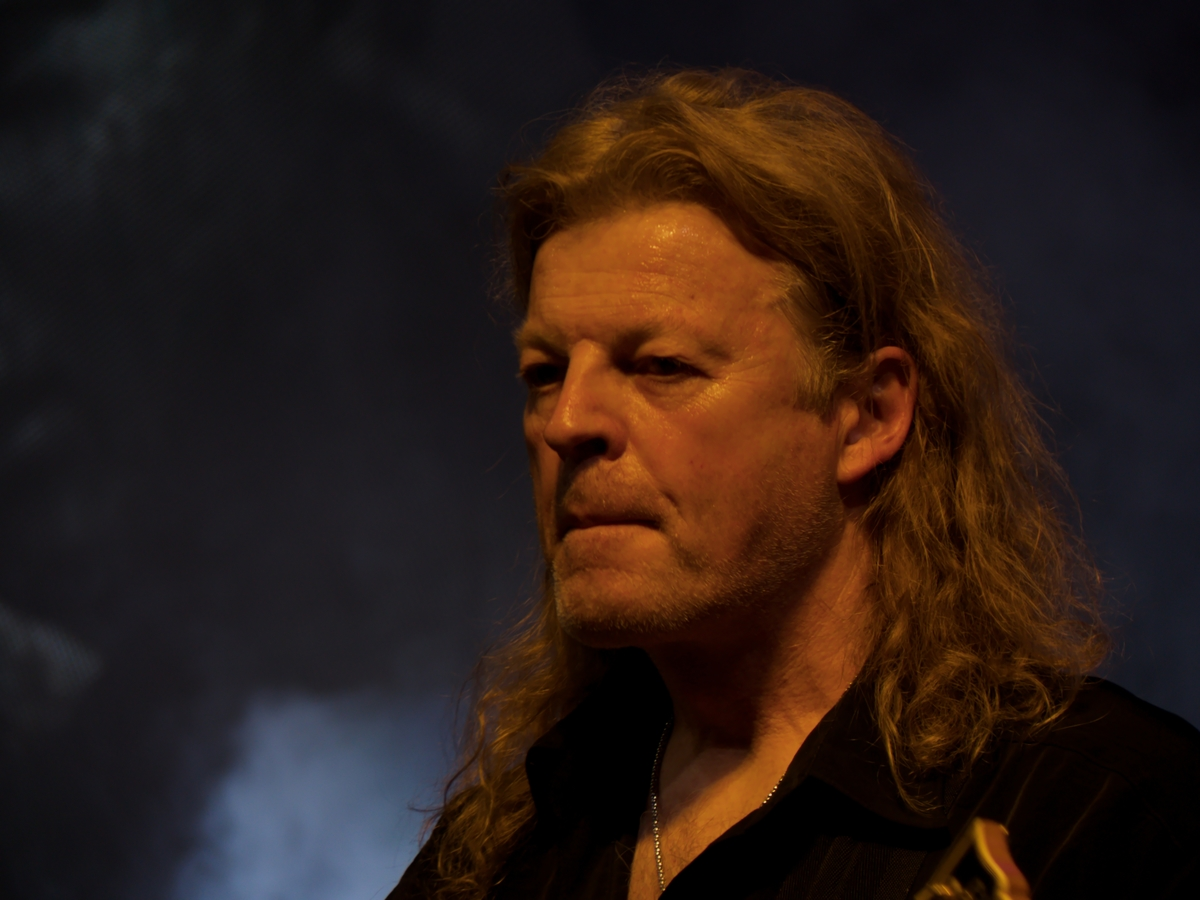 Roland Grapow (kytarista ex- Helloween, v současnosti Masterplan)