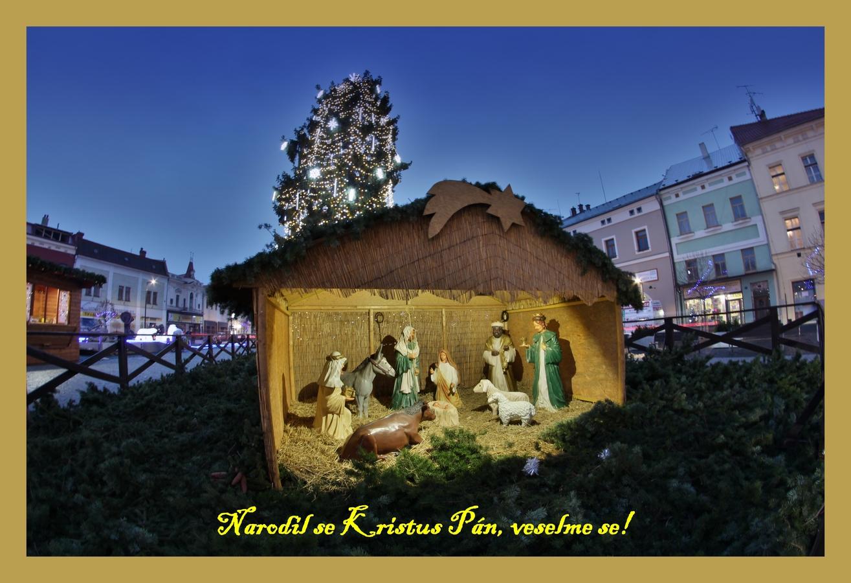 Vánoční pohled