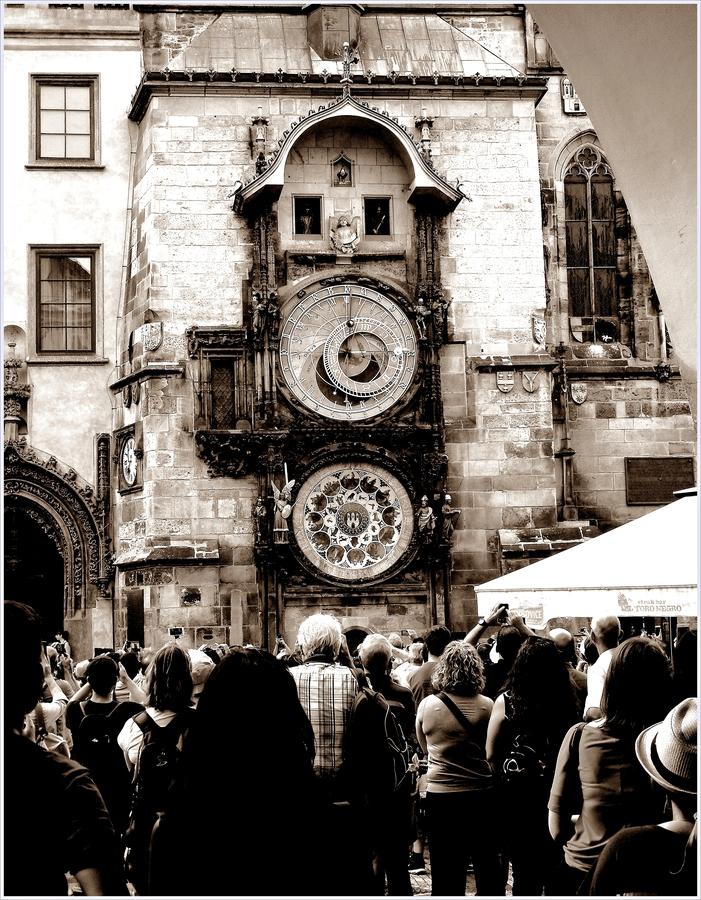 Staroměstský orloj .
