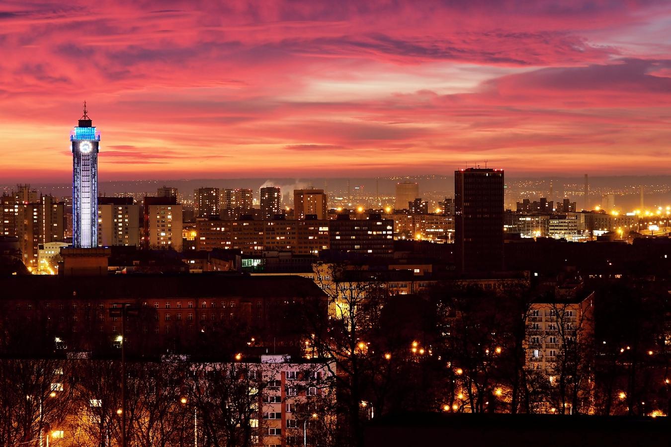 Ostrava podvečerní