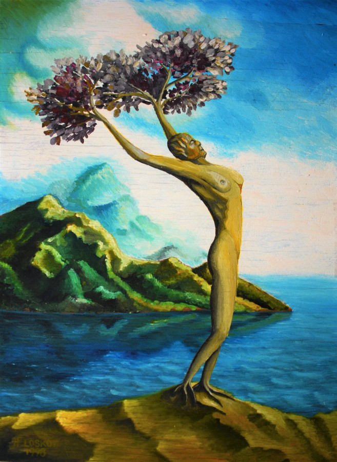 Strom života.