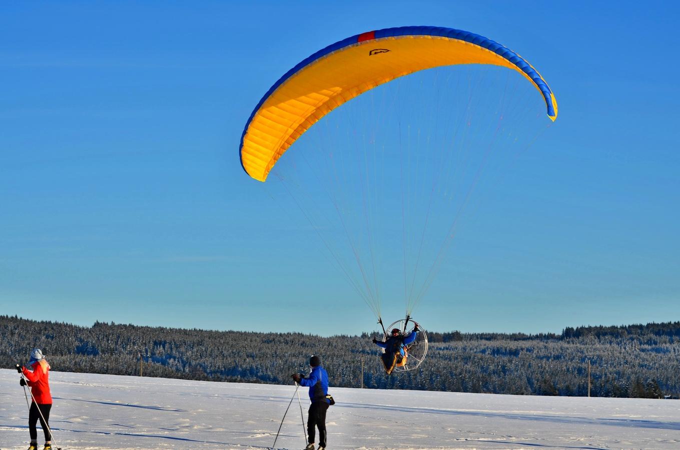 sport na horách Krušných