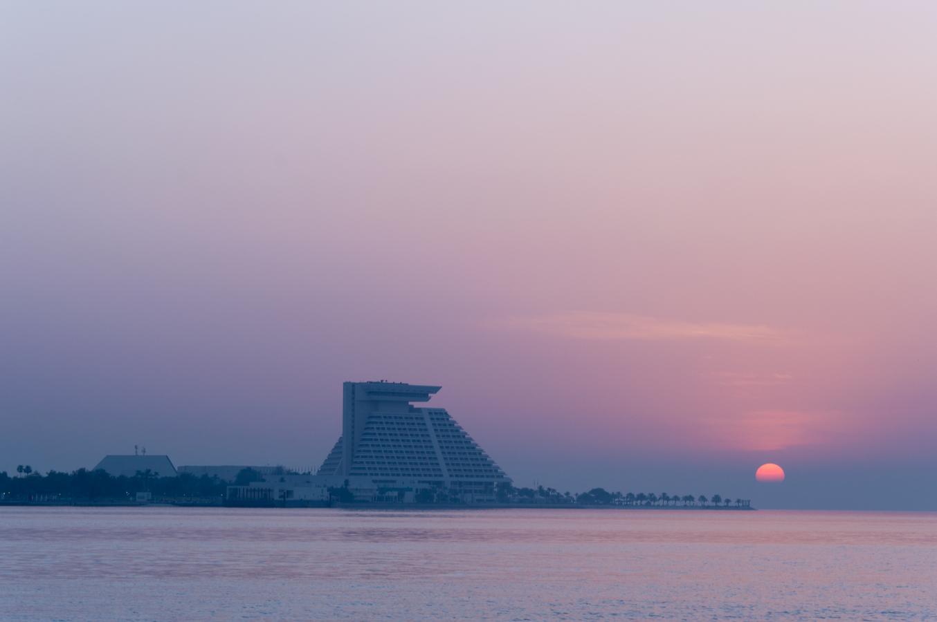 Východ v Kataru