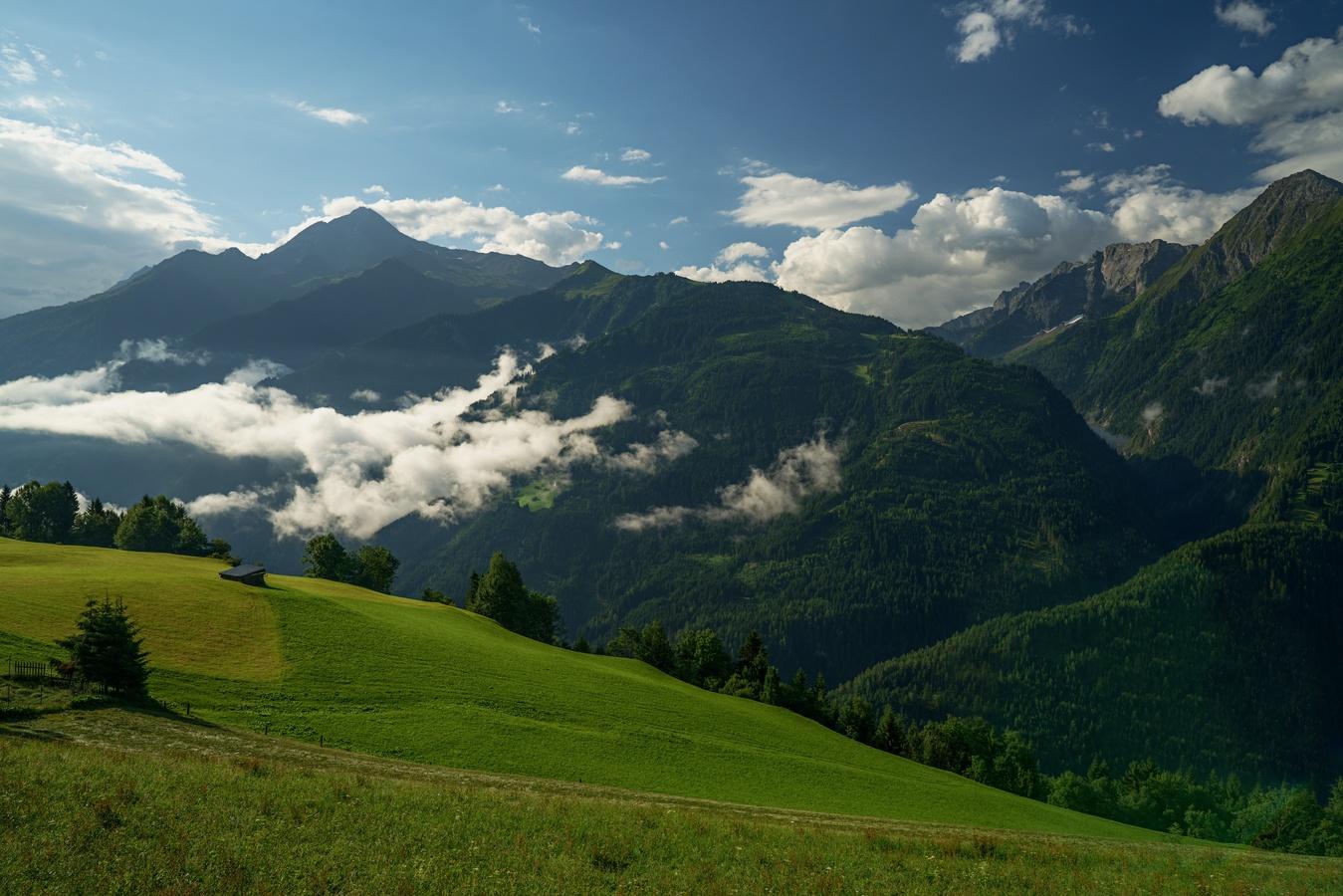 Ranní probuzení na Mayrhofenem