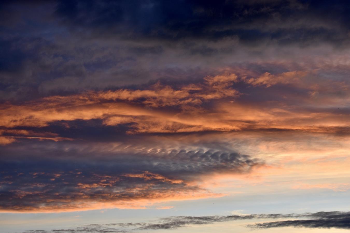 Kralupy večerní soumrak