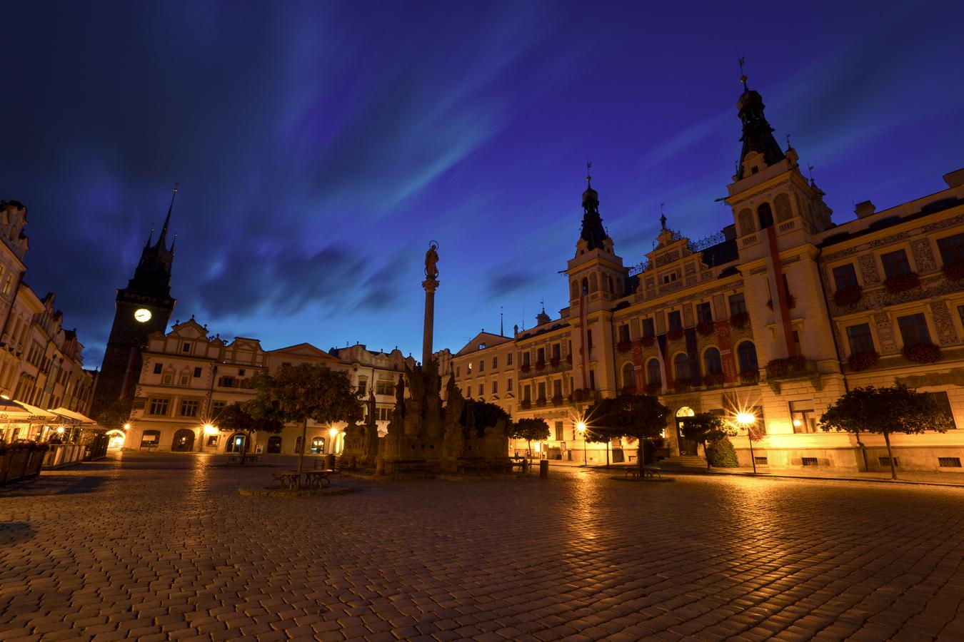 Pardubické Pernštýnské náměstí