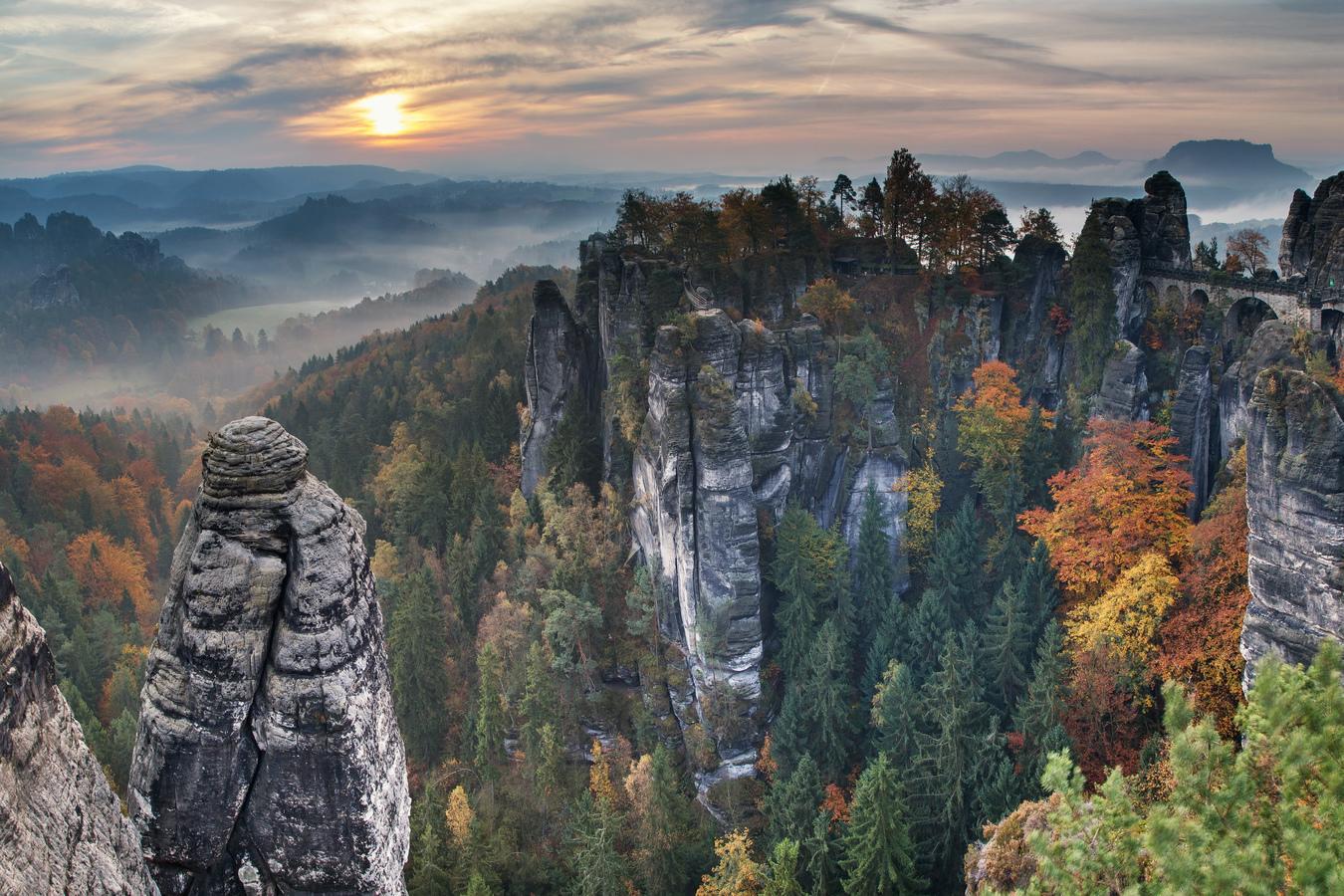 Podzimní Bastei