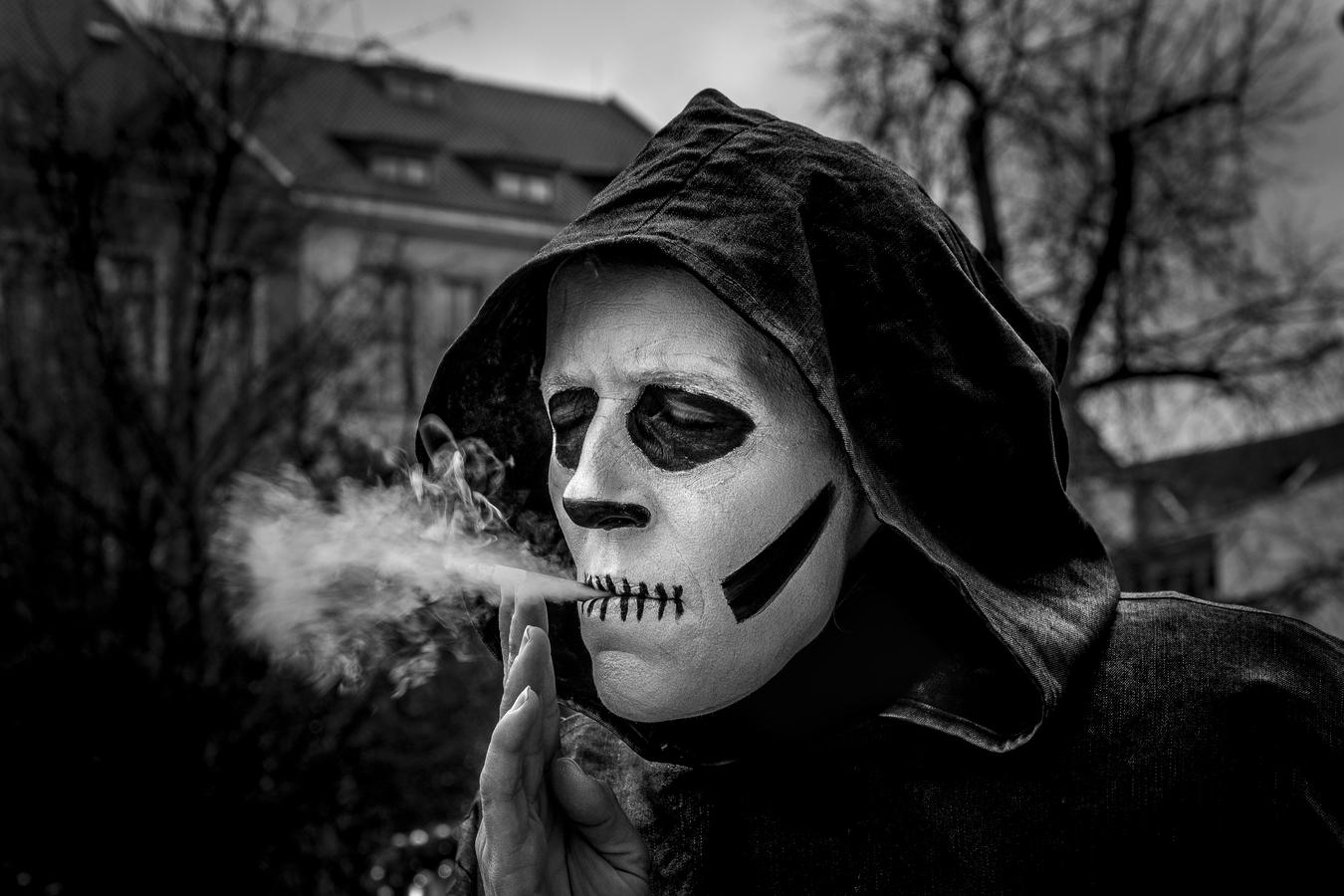 Fajčenie spôsobuje smrť :-)