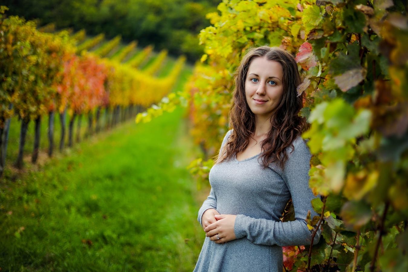 Uprostřed vinice