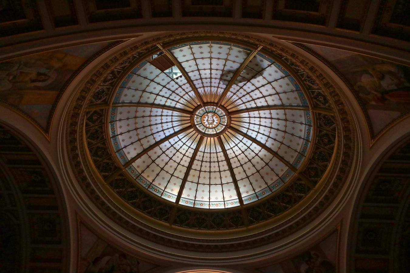 Kopule v Pantheonu