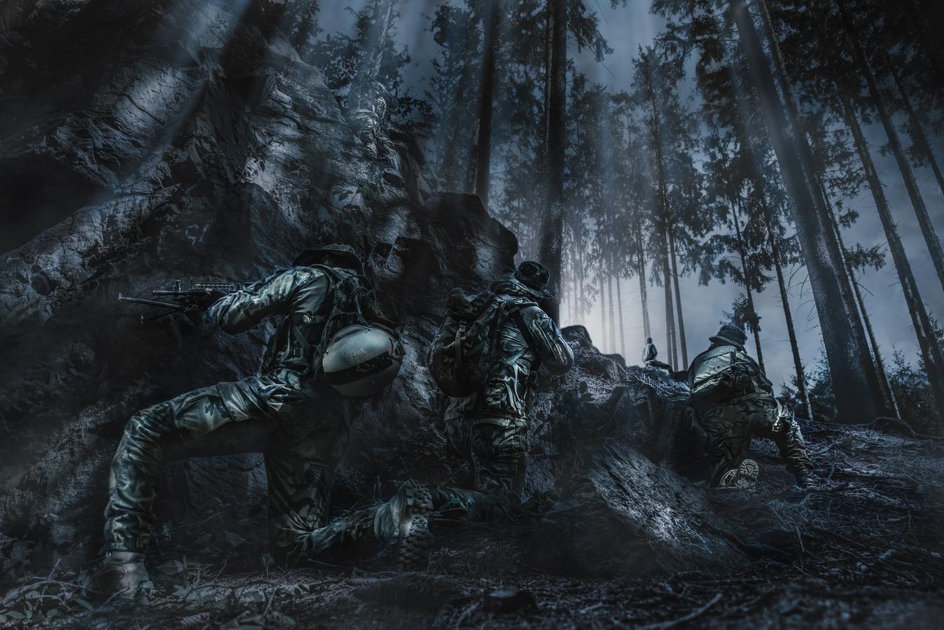 Osvobození vojáka z rukou teroristů