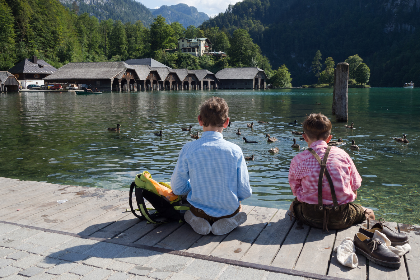 kluci u Königssee