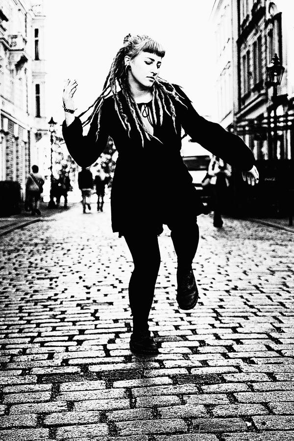 Tanečnice z ulice