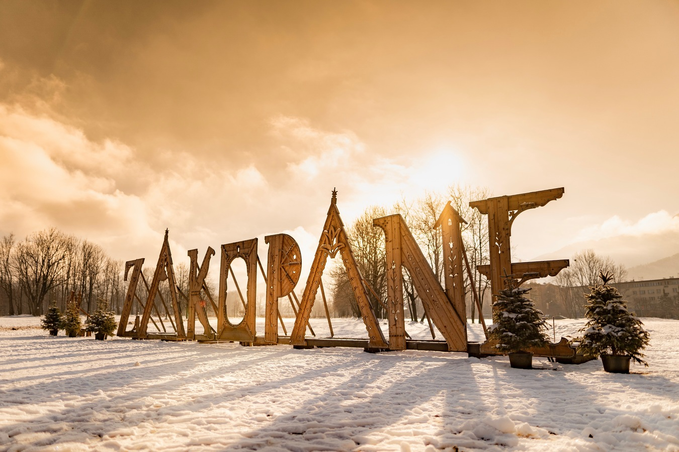 Sunrise in Zakopane