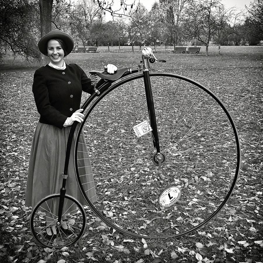 Dáma s velocipedem