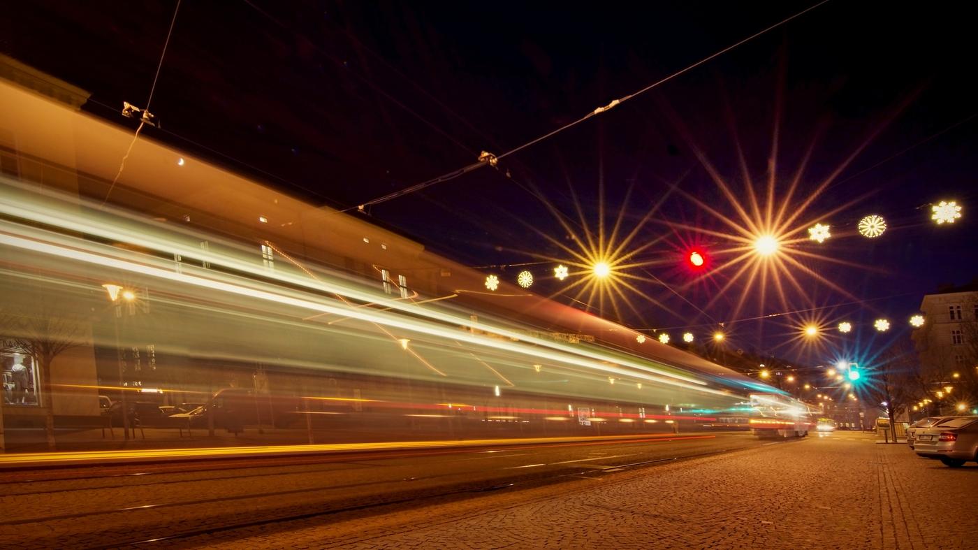 Adventní večer ve Štatlu: Šrumec šalin před Rotkirchecem
