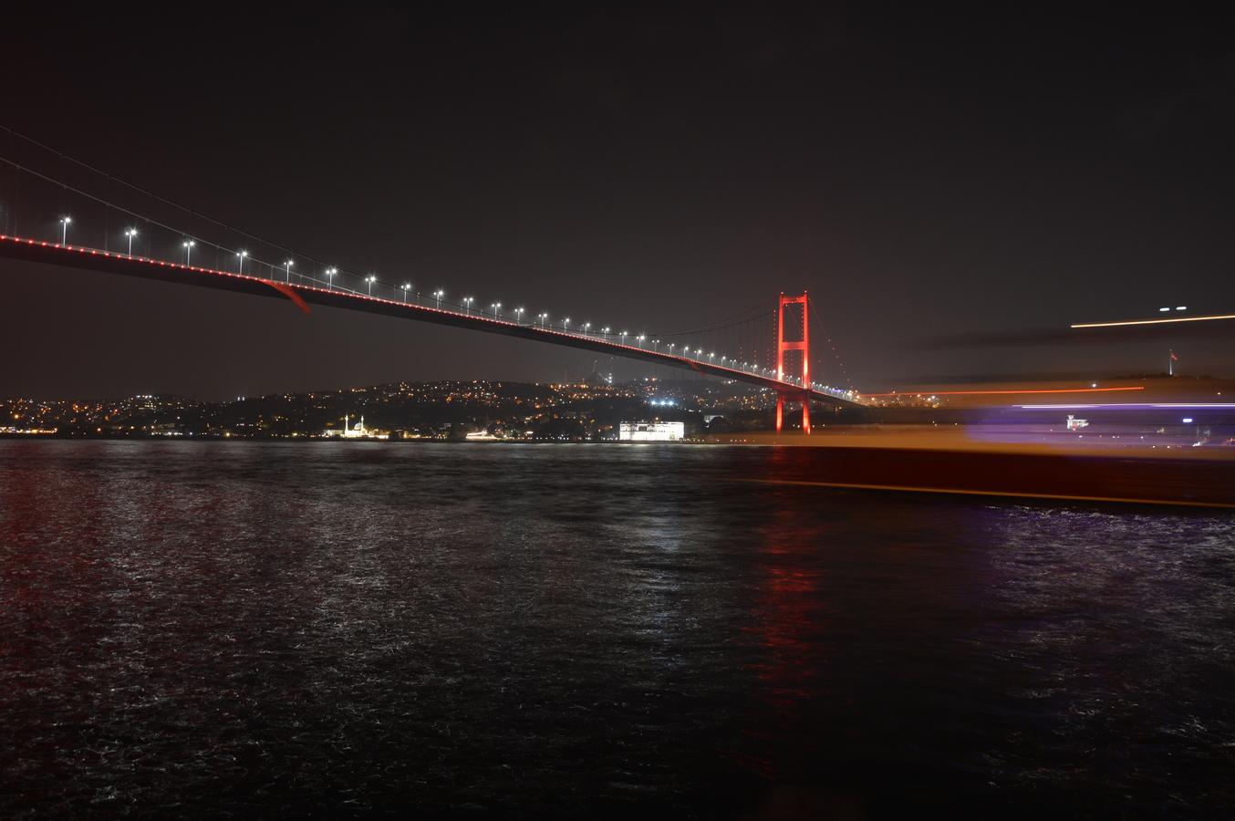 Noc v Istanbulu