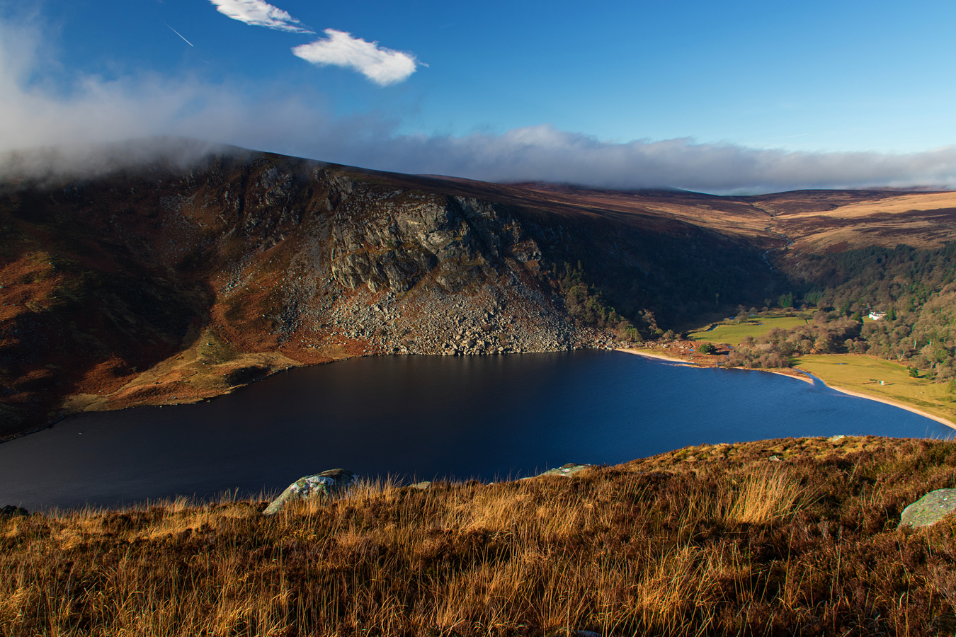 Wicklow -Lough Tay