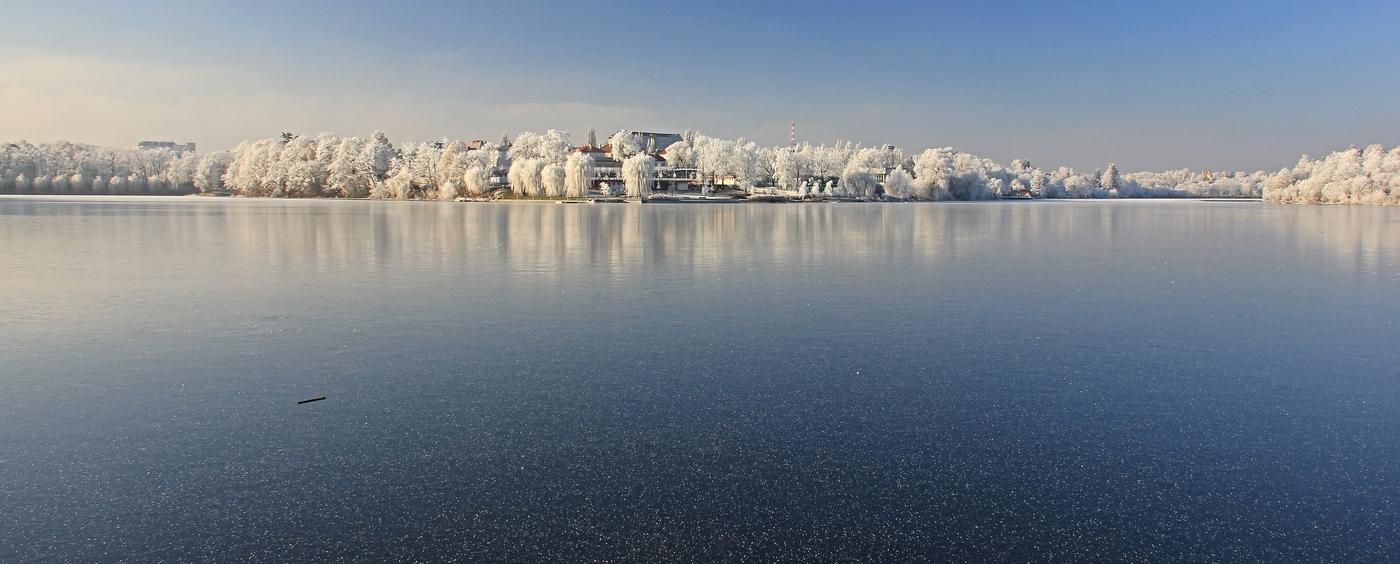 Zimní Tábor  -  rybník Jordán