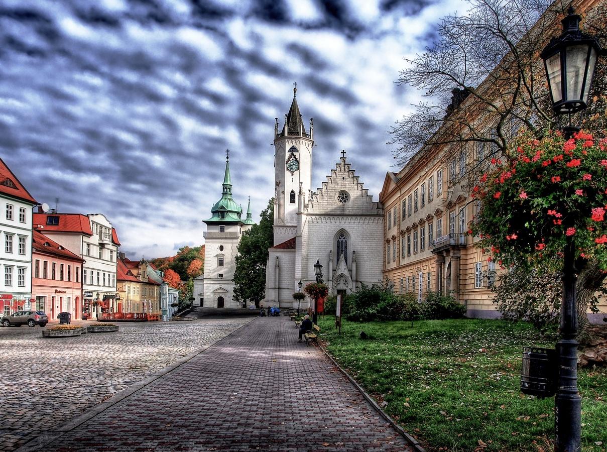 Zámecké náměstí.