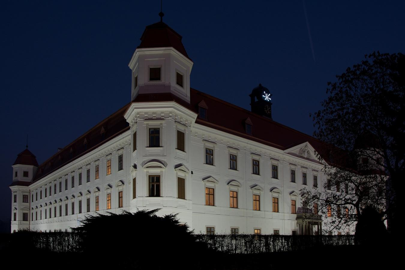 Noční zámek Holešov
