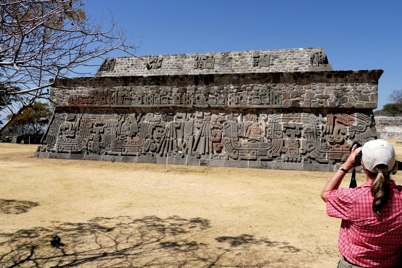 Chrám opeřeného hada - Xochicalco