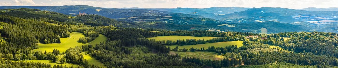 Šumavské panorama