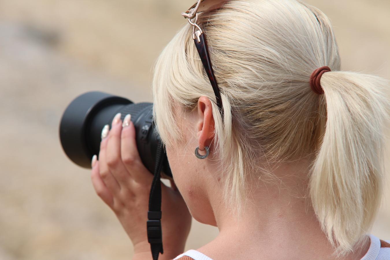 Vyfocená fotogravka, ehm - fotografka :-)