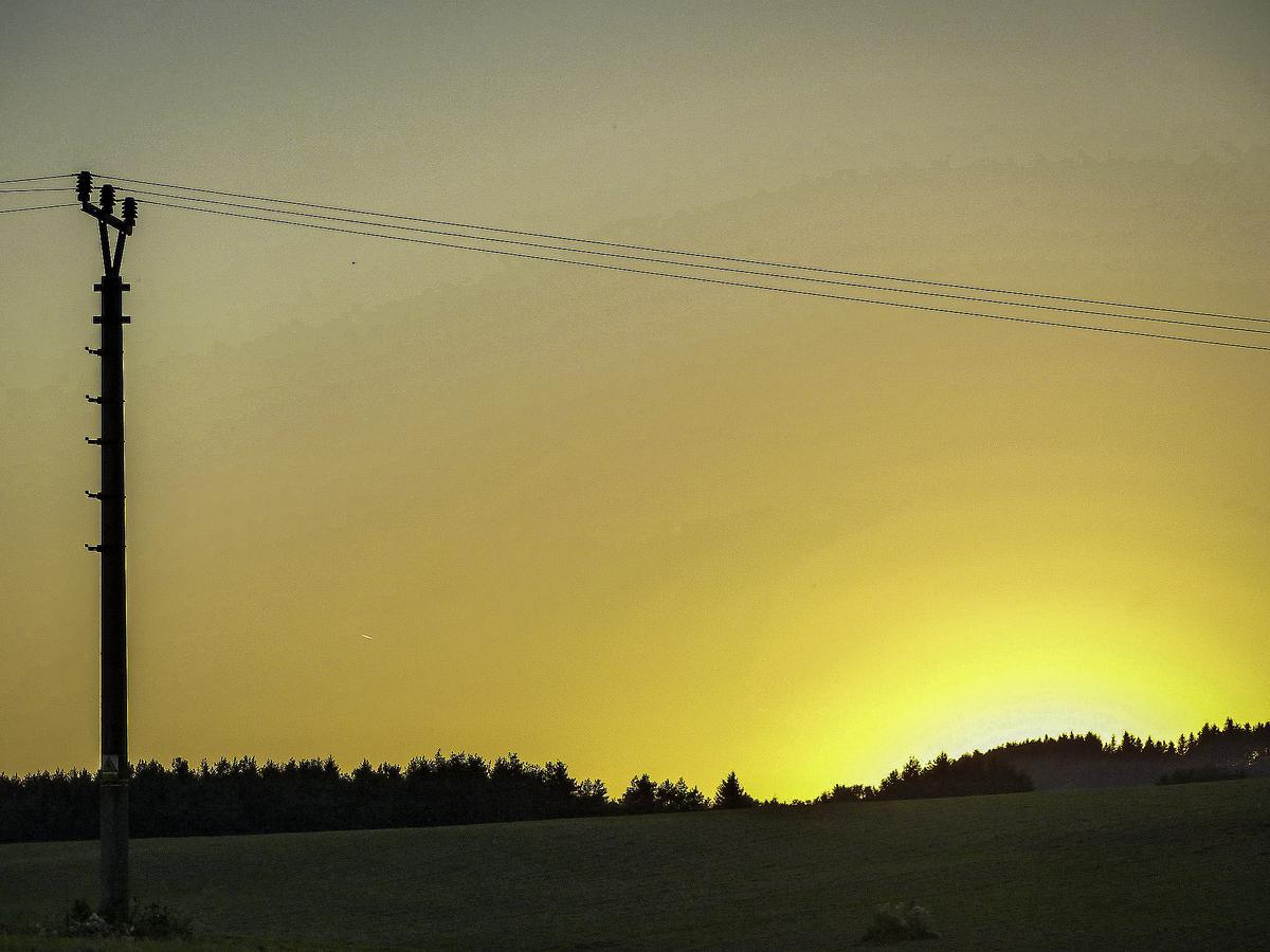 Večerní západ Slunce :)