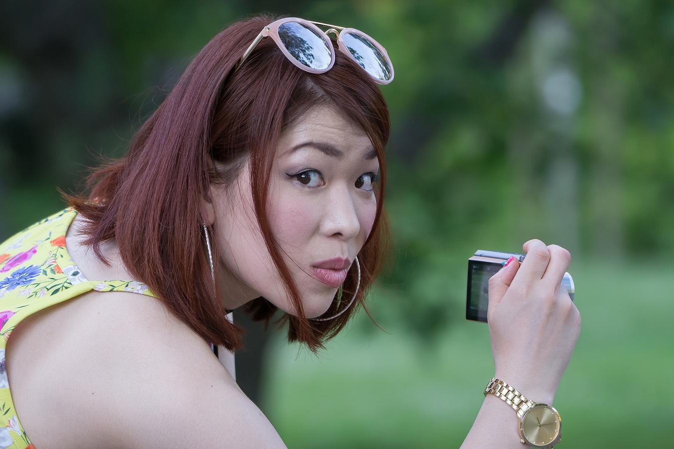 Japonské mahagonové ohlédnutí