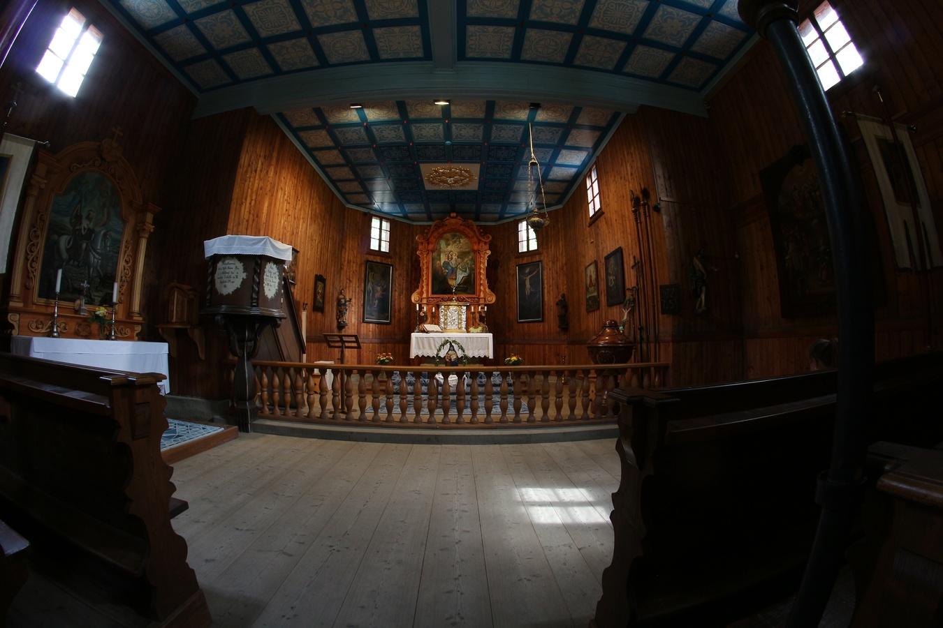 Skanzen - kostel 3