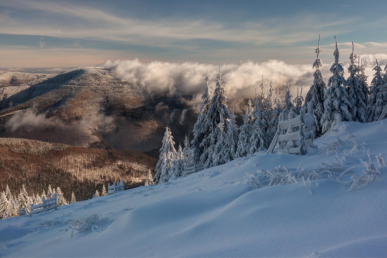pohled z Lysé hory