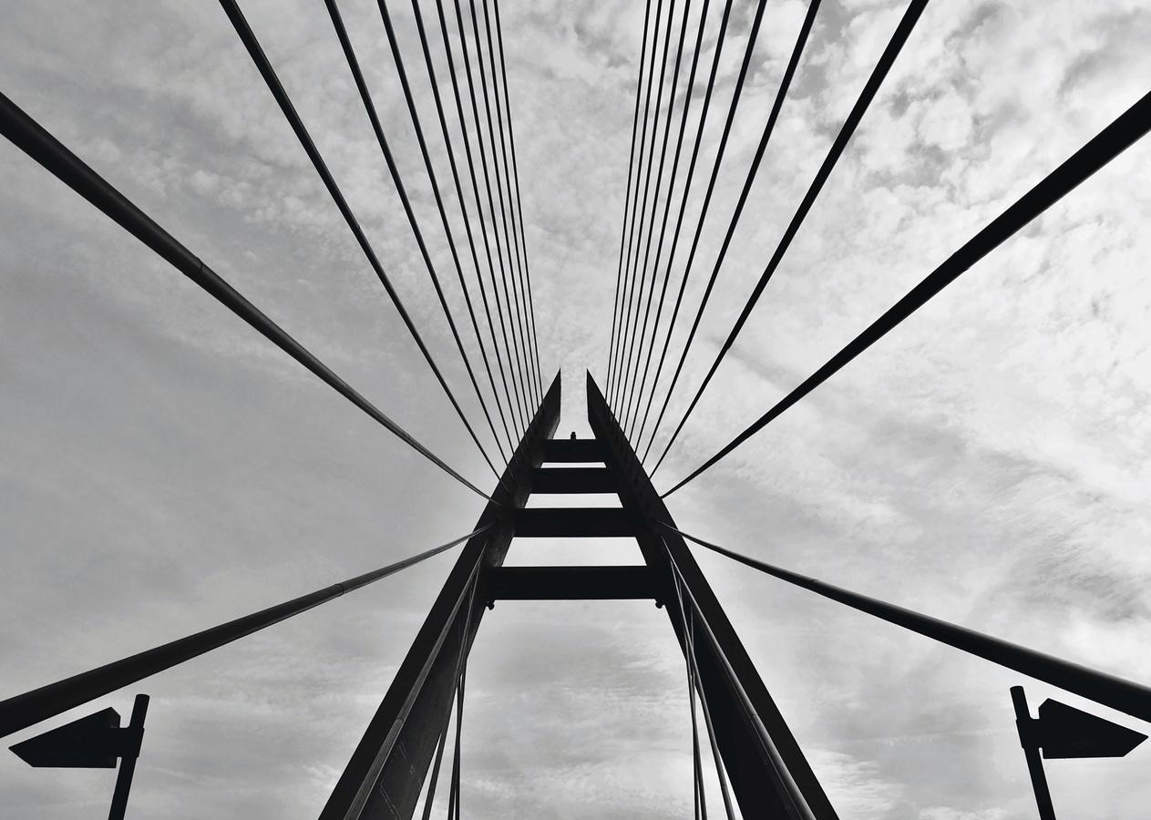 Lanová konstrukce Mariánakého mostu