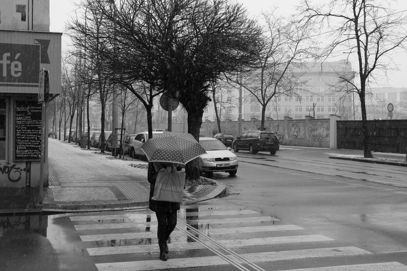 Deštivý den