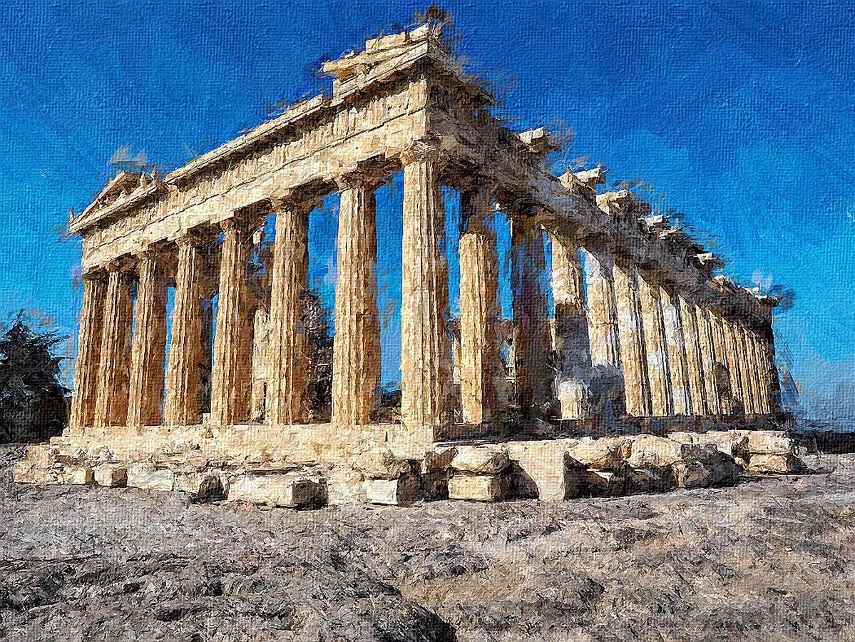 "Fotografie ""Athény Akropolis"" | Galerie Megapixel"