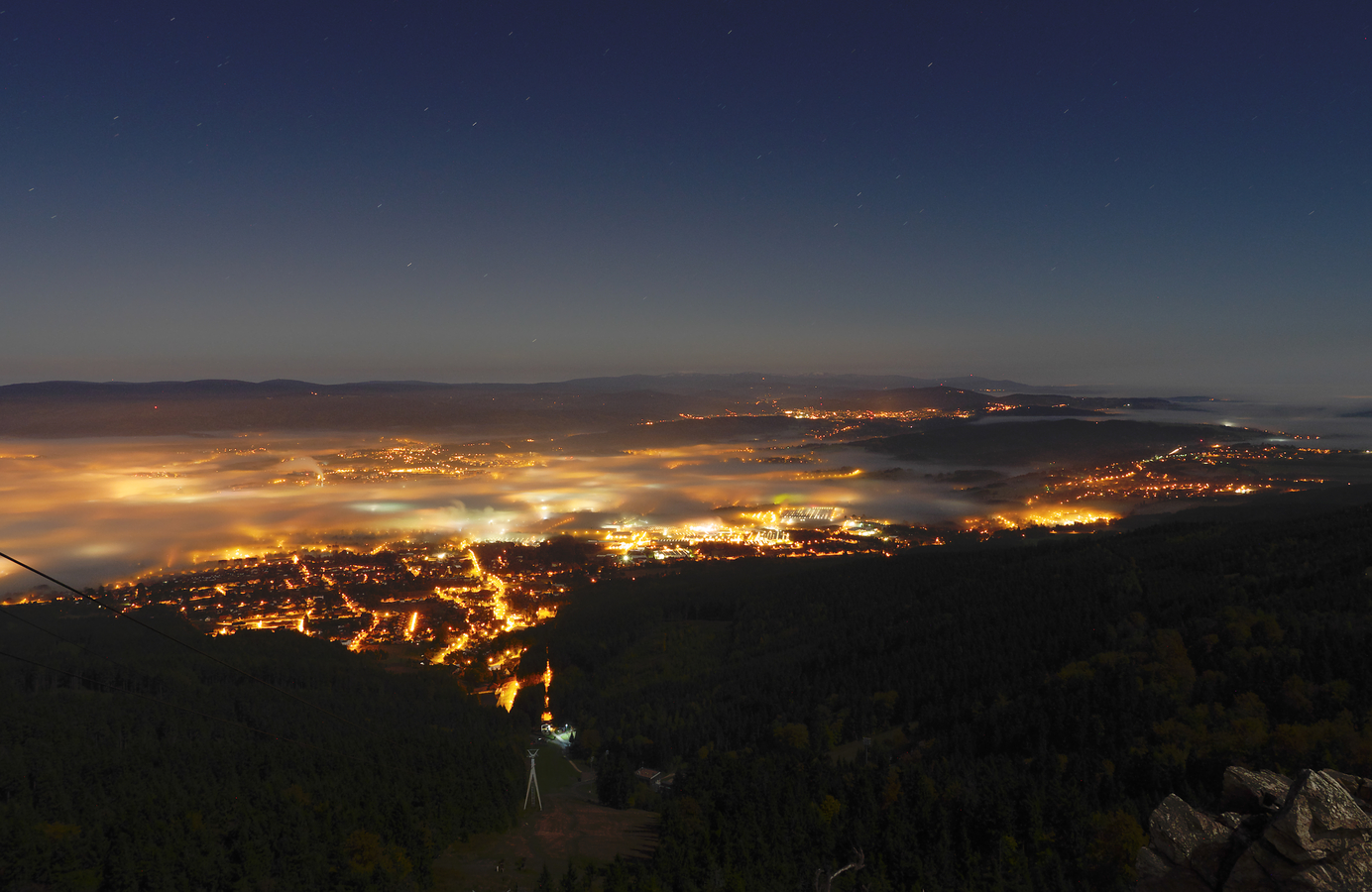 Noční Liberec